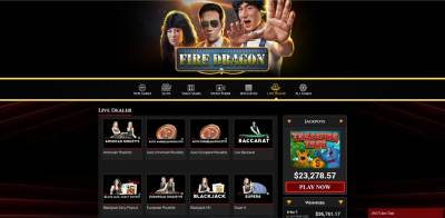 BoVegas features live dealer casino games