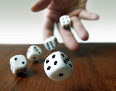 Controlling dice rolls can really help you win craps.