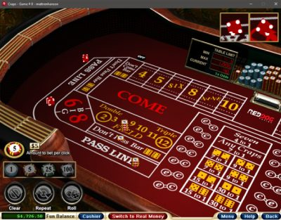 Register at Red Dog Casino now and play Craps