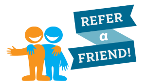 Refer a friend and earn some extra money